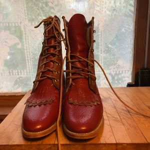 Vintage Acme leather Roper Boots